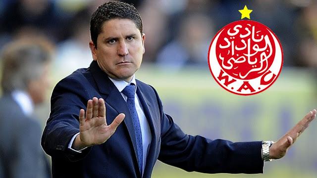 غاريدو مدربا للوداد البيضاوي المغربي
