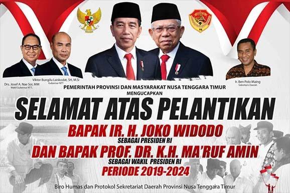 Rangkaian Acara Pelantikan Jokowi-Ma'ruf