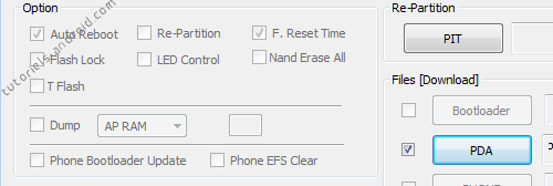 Cases F. Reset Time et Auto Reboot