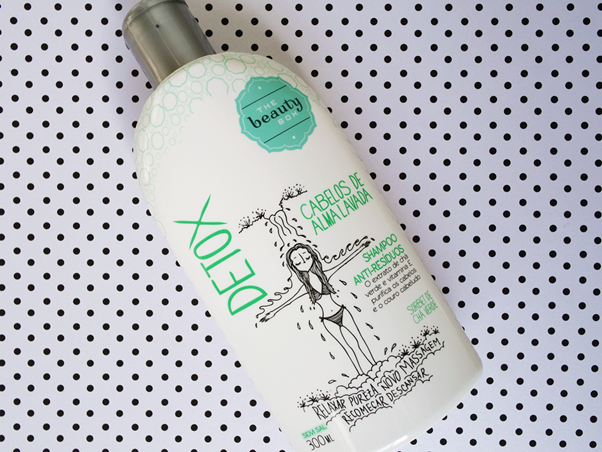 Resenha: Shampoo Anti-Resíduos Detox - The Beauty Box