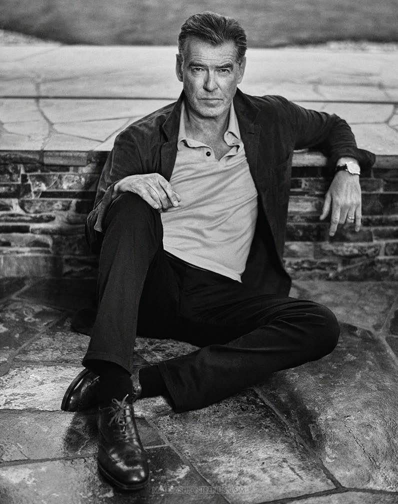 Pierce Brosnan para Esquire USA por Christian Anwander