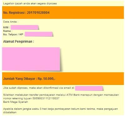 Cara Legalisir Ijasah Online BSI