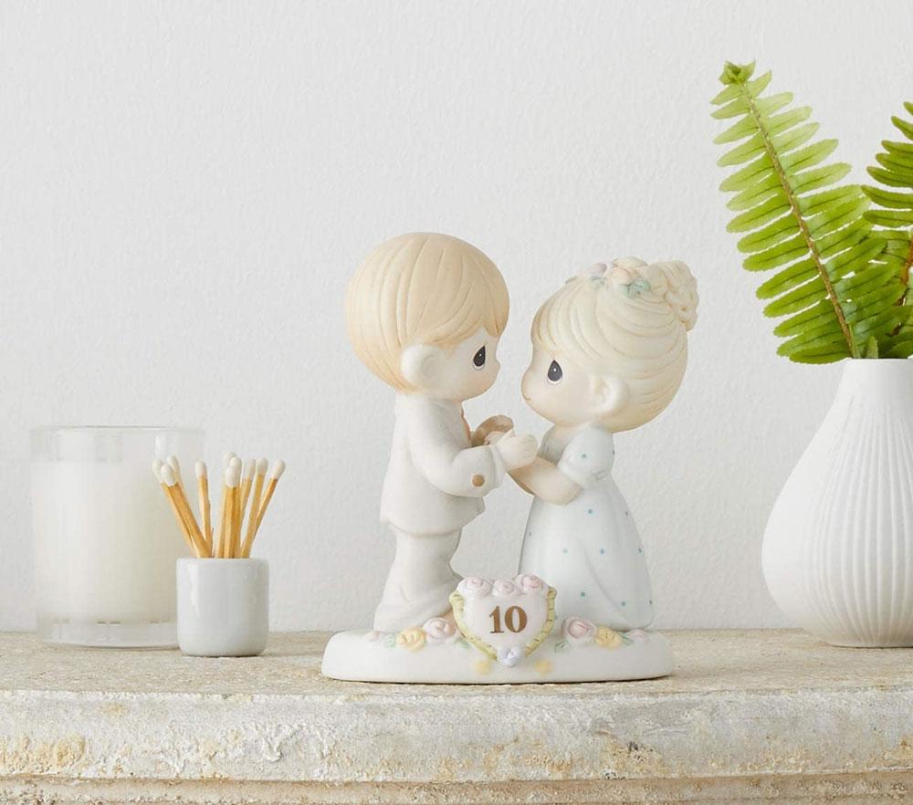 10th wedding anniversary gift porcelain figurine