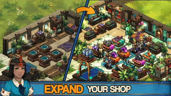 Tiny Shop (MOD, Unlimited Money/Token)