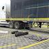 """Hallan 43 kilos de cocaína abandonada en puesto fronterizo """"Las Manos""""."""
