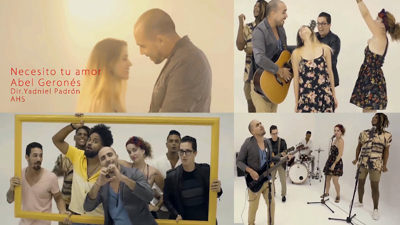 Abel Geronés - ¨Necesito tu amor¨ - Videoclip - Director: Yadniel Padrón. Portal Del Vídeo Clip Cubano
