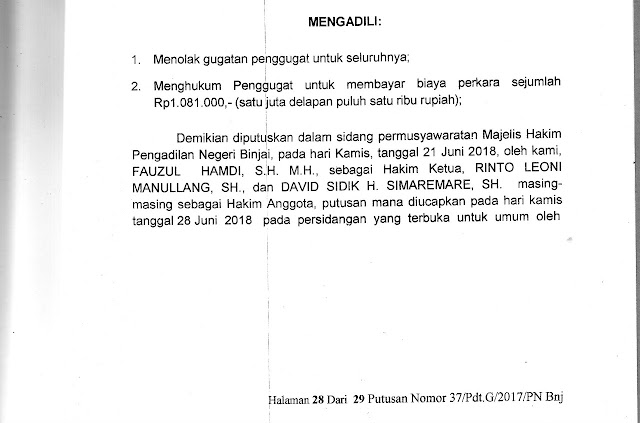 Ir H Nirwansyah Menjabat Ketua Yaspen PABA Periode 2017-2022