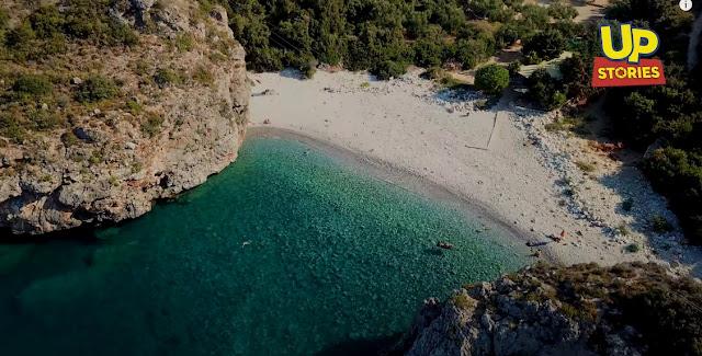 """""""Φονέας"""": Η παραλία της Μεσσηνιακής Μάνης που έγινε το λημέρι ενός φονιά (βίντεο drone)"""