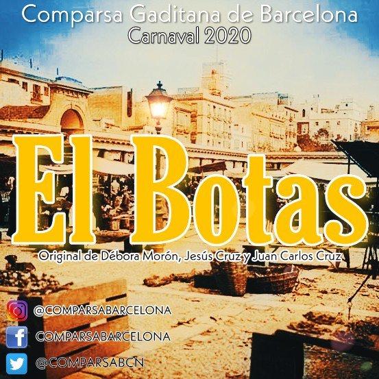 La Comparsa de Barcelona se llamará EL BOTAS