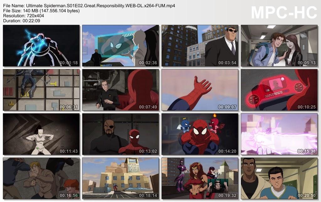 Ultimate spiderman episode 1 in hindi download.