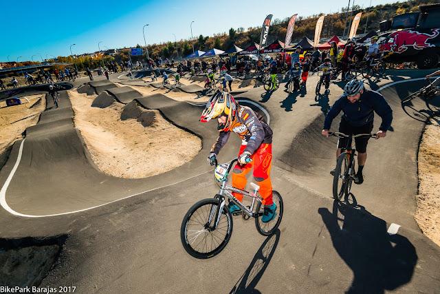 Inaugurado el Bike Park Barajas