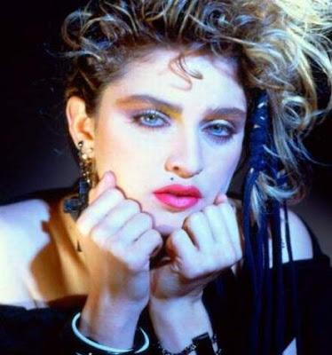 Foto de Madonna con maquillaje
