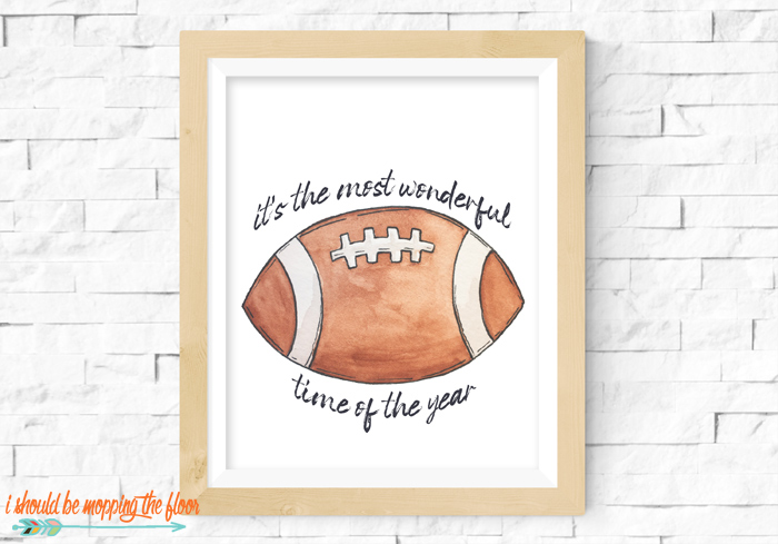 Printables for Football