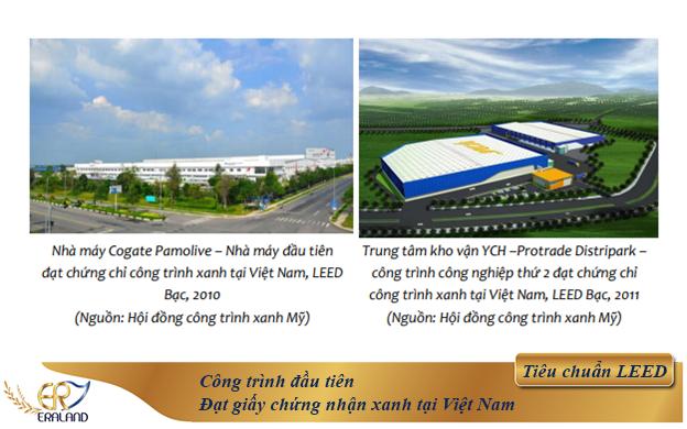 công trình đạt chứng nhận xanh đầu tiên tại Việt Nam