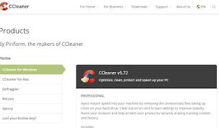 برنامج منظف الكمبيوتر CCleaner