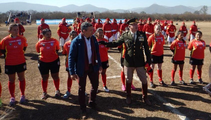 La V Brigada de Montaña inauguró su cancha de rugby
