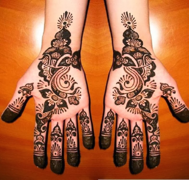 Hair Style — Simple Mehndi Designs Pictures 2013-2014 ...  Hair Style — ...