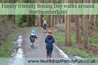 Child friendly boxing day walks in Northumberland