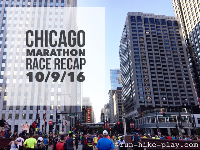 Chicago Marathon Race Recap
