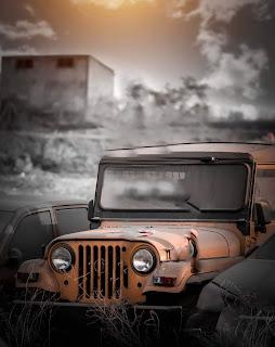 Jeep Dark Tone CB Background Image Free Stock