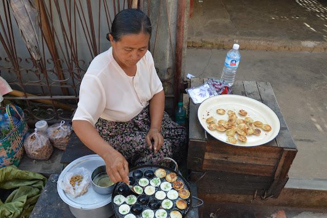 Vendeuses de Street Food sur le marché