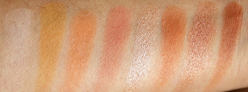 colourpop single pressed shodows Labyrinth, High-strung, Boxer, Paper tiger, I owe you and cut-outs swatches