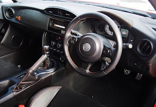 Launched Toyota 86 860 Special Edition Interior Dashboard View