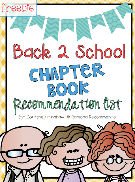 https://www.teacherspayteachers.com/Product/Back-To-School-Reading-Chapter-Book-List-5th-Grade-2718524