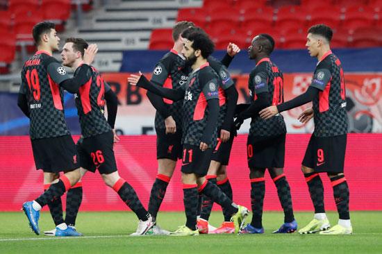 صور من مباراة ليفربول ضد لايبزيج