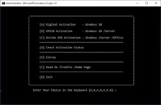 Microsoft Activation Script 1.0