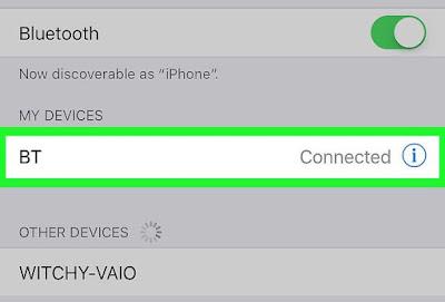 Cara Menghubungkan Headphone Bluethooth di iPhone atau iPad 5