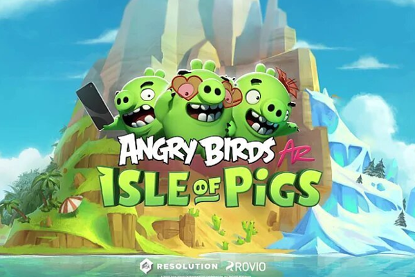 Rovio introduces augmented reality (AR) game Angry Birds AR: Isle of Pigs for iOS