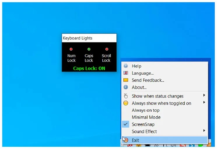 Keyboard Lights : Βάλτε φωτεινές ενδείξεις κατά την πληκτρολόγηση των  Num Lock, Caps Lock, Scroll Lock