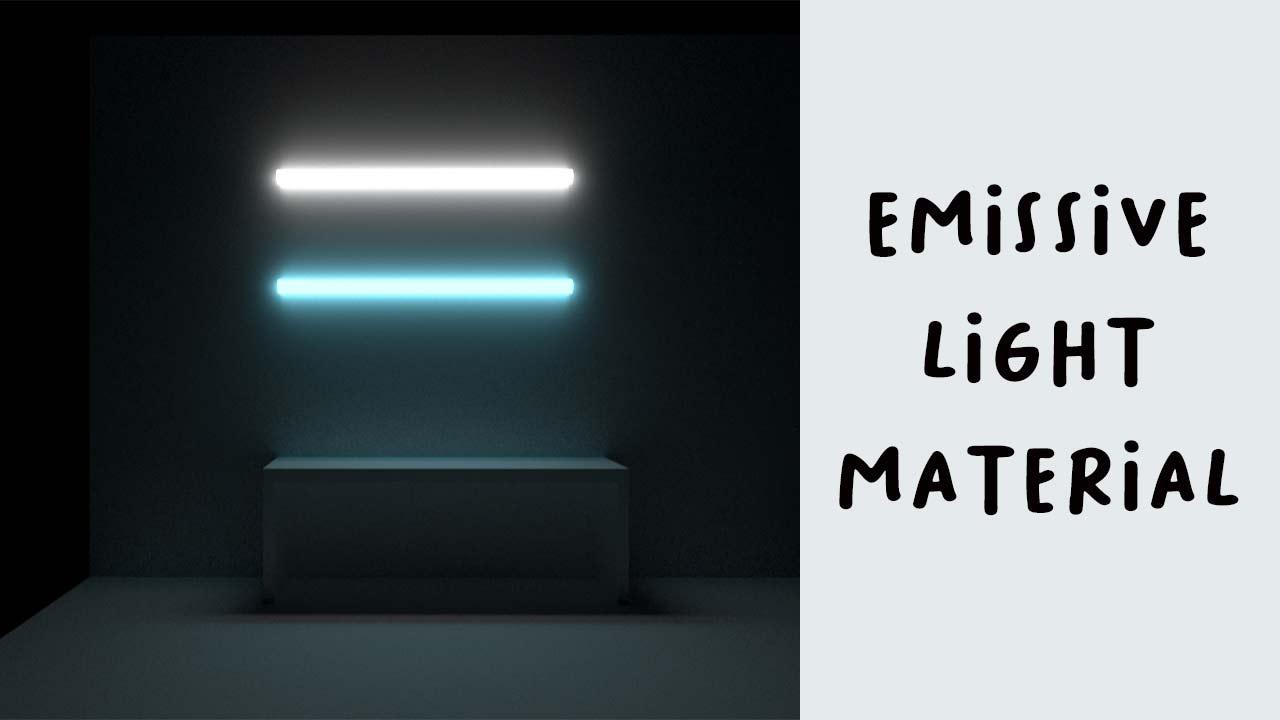 Emissive Light di Vray Sketchup 2020
