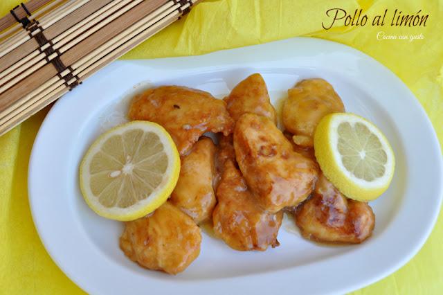 Pollo Al Limón, Para El Año Nuevo Chino