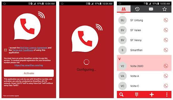 Aplikasi Smart VoLTE