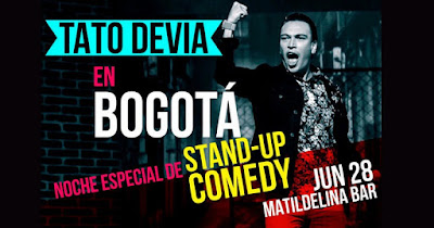 Noche especial de Stand Up Comedy con Tato Devia