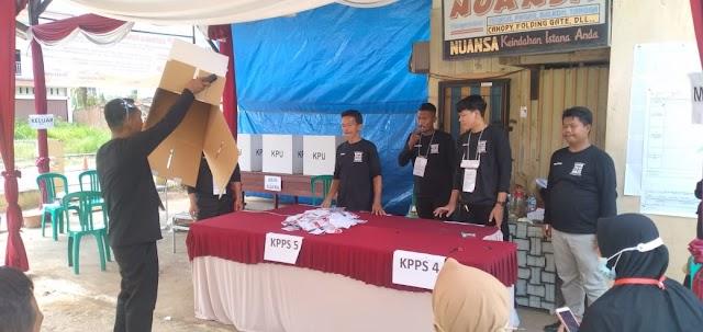 259 Pemilih Mencoblos di TPS 01 Simpang Sungai Duren
