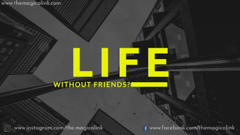 Life Without Friends: It's Not as Diffficult as You Think
