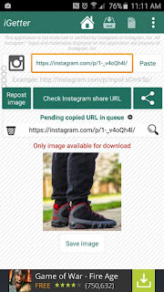 Instagetter - How to Download Instagram Photos And Videos On Android
