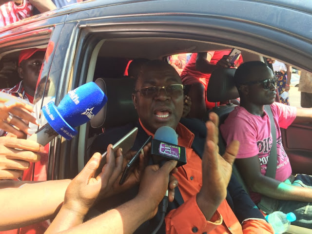 """Guinée/acte 5 du FNDC: """" les gens qui sont derrière lui ce sont eux qui ont fait de la Guinée le lac """" dixit Dr Faya Millimono"""