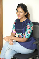 Eesha Looks super cute stunning in Denim Jeans and Top at Darsakudu movie Inerview ~  Exclusive 033.JPG