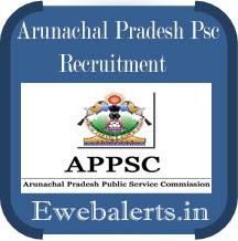 Arunachal Pradesh PSC Recruitment