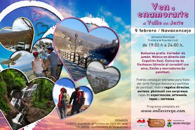 9 de febrero en Navaconcejo: Ven a enamorarte al Valle del Jerte