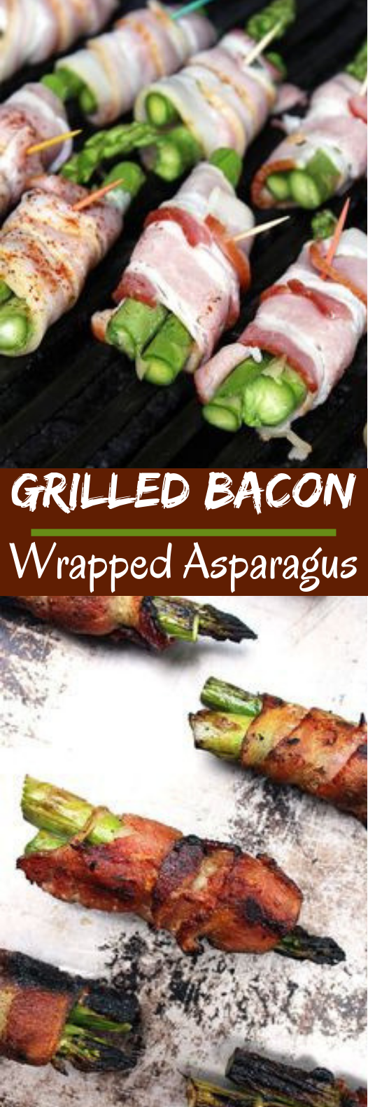 Grilled Bacon Wrapped Asparagus #healthy #keto