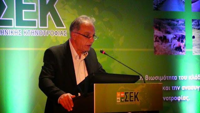Για τέταρτη 4ετια ο Παναγιώτης Πεβερέτος από την Αργολίδα Πρόεδρος στο Σύνδεσμο Ελληνικής Κτηνοτροφίας