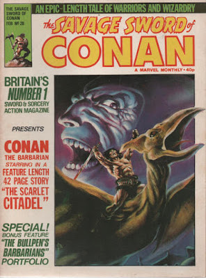 Savage Sword of Conan #28