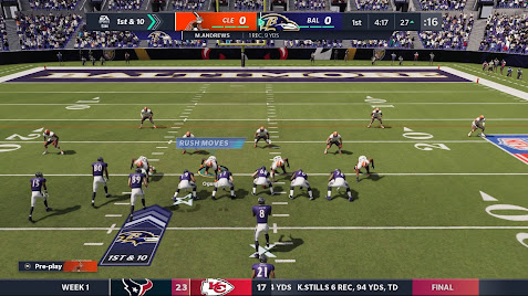 Madden NFL 21 game from EA