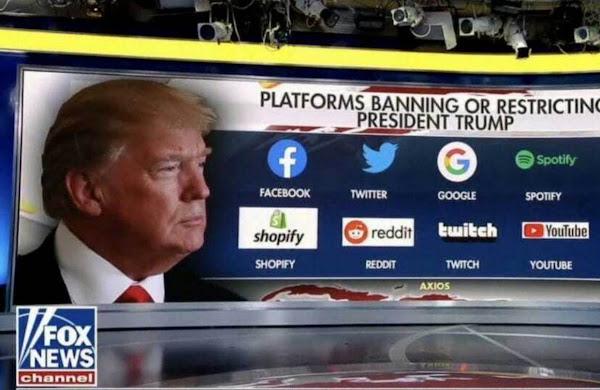 Трампа забанили в соцсетях