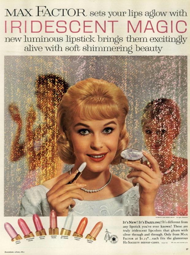Anúncios vintage de maquiagem, anúncios vintage, publicidade vintage, vintage, vintage makeup ad, vintage ad, história da maquiagem, maquiagem no decorrer das décadas, anúncios de maquiagem dos anos 50